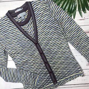 •Missoni• sz 8 twin cardigan set